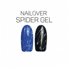 Nailover – Spider Gel Effect – Alb (5ml)